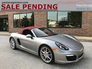 2013 Porsche Boxster S Natural Leather/Carbon Interior Pkg/BOSE Surround/