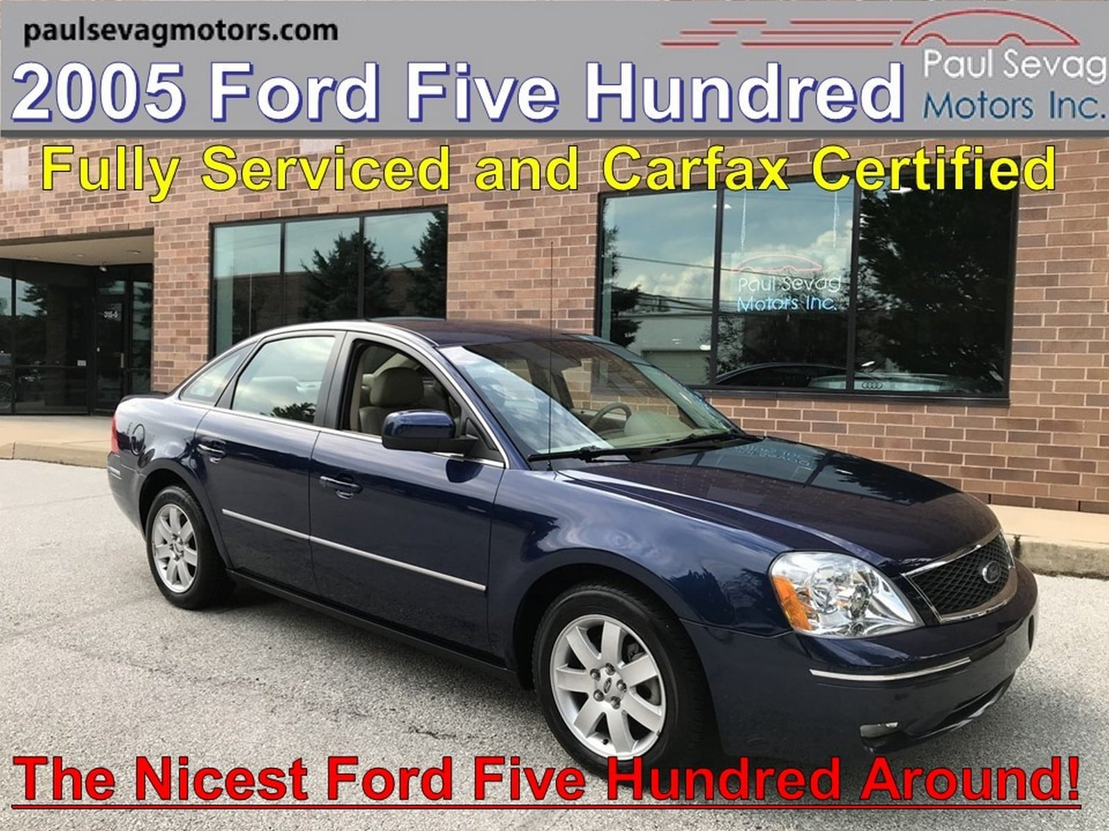 2005 Ford Five Hundred SEL Leather Interior/Fully Serviced