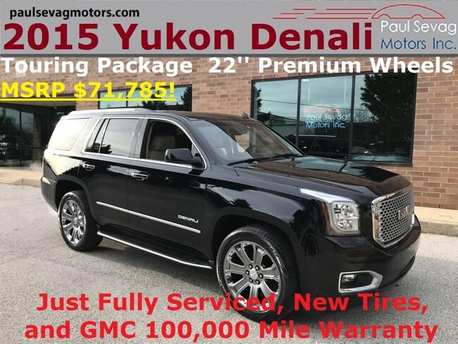2015 GMC Yukon Denali 4WD Touring Pkg/22'' Premium Wheels/MSRP $71,785 SUV
