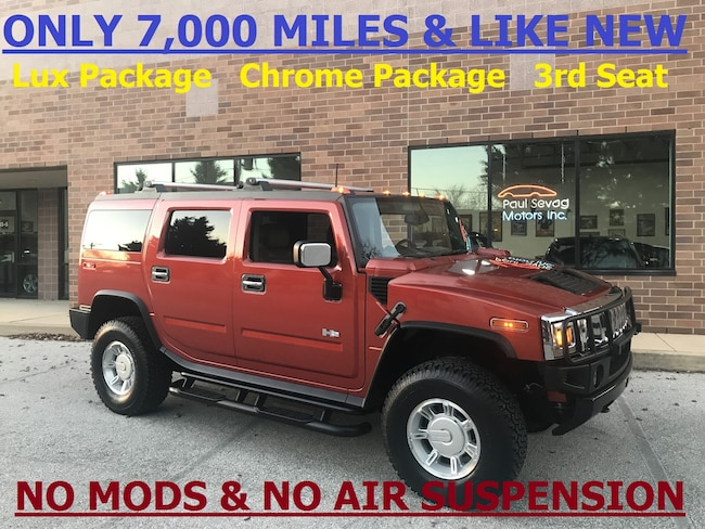 2003 HUMMER H2 Lux Pkg /Chrome Appearance Pkg/3rd Row Seat SUV