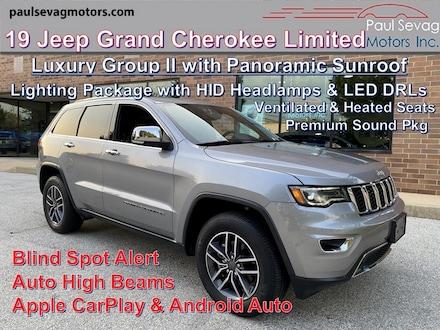 2019 Jeep Grand Cherokee Limited 4x4 Luxury Group/Lighting Pkg/Pano Roof/Premium Sound