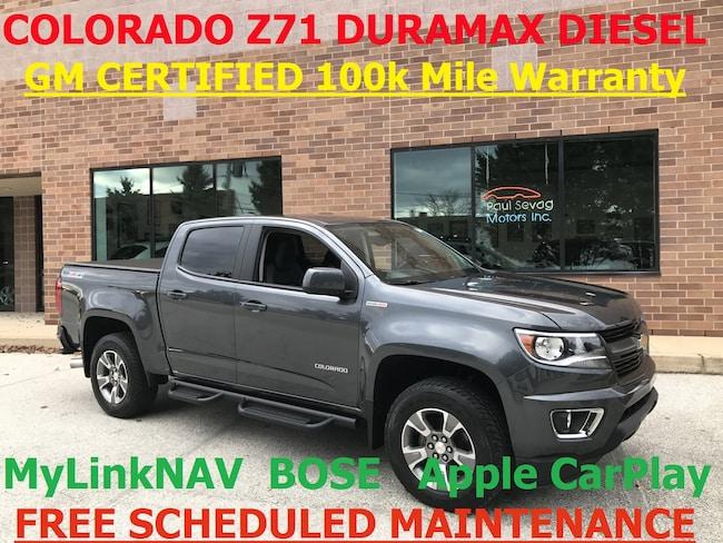 2016 Chevrolet Colorado Z71 Crew Cab DURAMAX Diesel/Navigation/CERTIFIED Truck Crew Cab