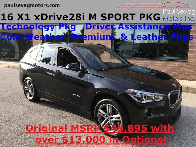 2016 BMW X1 xDrive28i M Sport Pkg Technology/Driver Assistance Plus/Cold Weather/MSR SUV