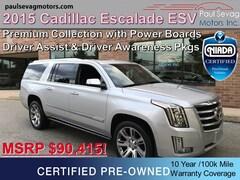 2015 Cadillac Escalade ESV Premium AWD with 22