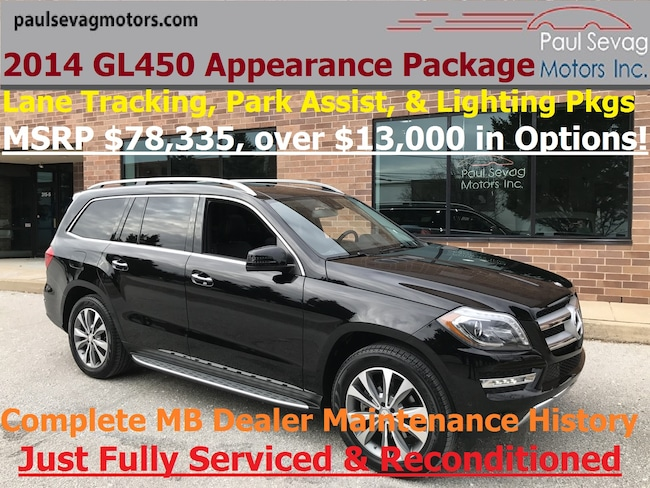 2014 Mercedes-Benz GL 450 4MATIC Appearance/Lane Tracking/Parking Assist/MSRP $78,3 SUV
