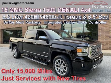 2015 GMC Sierra 1500 Denali 6.2L 4x4 Driver Alert Package/Integrated Trailer Brake Cont