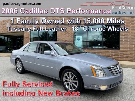 2006 Cadillac DTS Performance Collection Tuscany Full Leather/18