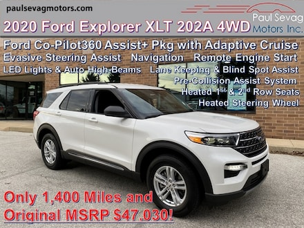 2020 Ford Explorer XLT 4WD 202A Pkg/Co-Pilot360 Assist+ Pkg/Comfort Pkg