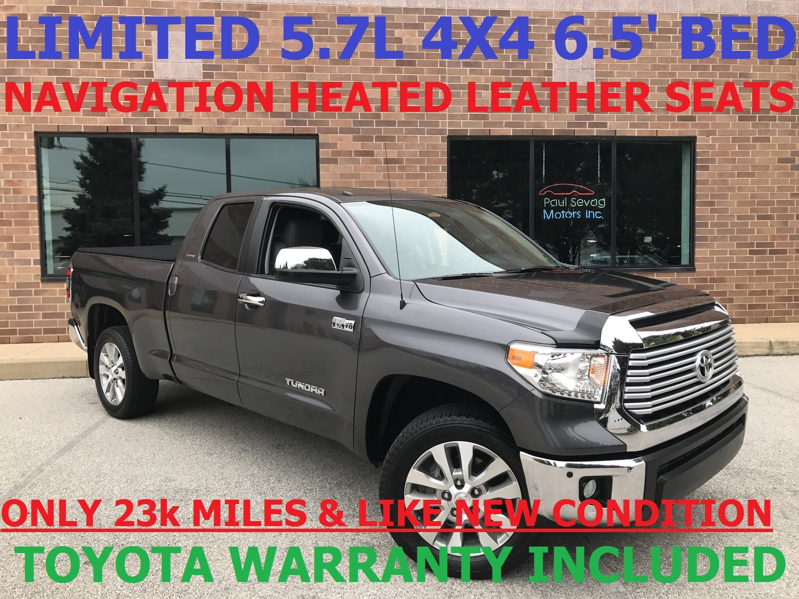 2014 Toyota Tundra Limited Double Cab 4x4 6.5u0027 Bed/Navigation/Tow Pkg/