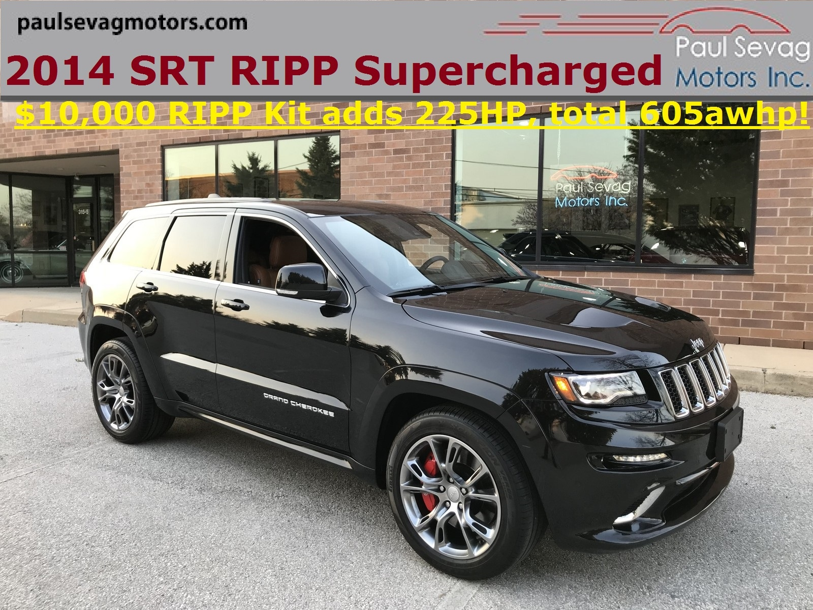 2014 Jeep Grand Cherokee SRT with RIPP SUPERCHARGER 225HP UPGRADE KIT SUV