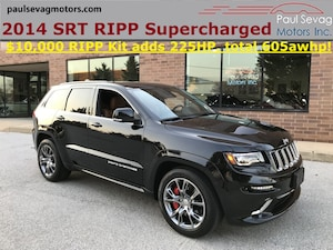 2014 Jeep Grand Cherokee SRT with RIPP SUPERCHARGER 225HP UPGRADE KIT