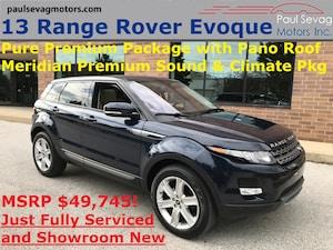 2013 Land Rover Range Rover Evoque Pure Premium Xenon Pkg/Climate Comfort Pkg