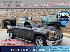 2015 Chevrolet Silverado 1500 Crew Cab LT 4WD 5.3L V8/All Star Edition/18'' Premium Wheels/Trail