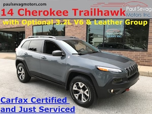 2014 Jeep Cherokee Trailhawk 4x4 V6/Leather Interior Group/Heated Seats