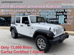 2014 Jeep Wrangler Unlimited Rubicon Heated Leather/730N NAV/Remote Start/Dual Top Grou