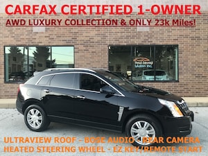 2012 Cadillac SRX AWD Luxury Collection UltraView Roof/1-Owner/MSRP $43,100