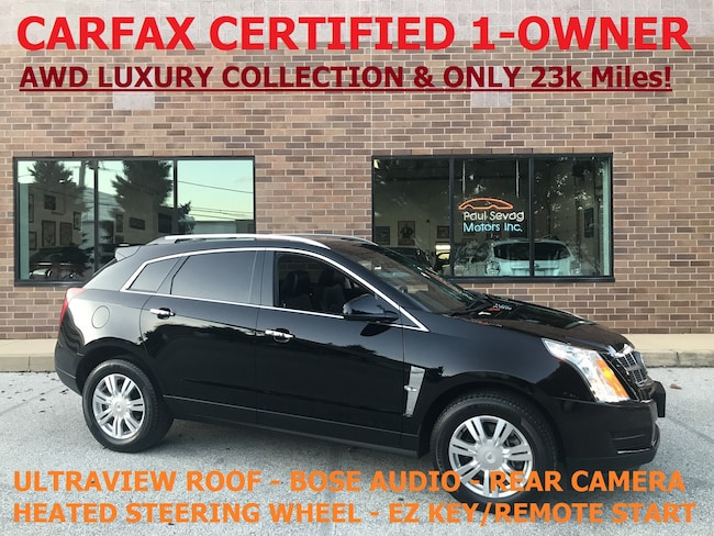2012 Cadillac SRX AWD Luxury Collection UltraView Roof/1-Owner/MSRP $43,100 SUV
