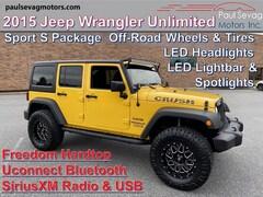 2015 Jeep Wrangler Unlimited Sport Hardtop/LED Lights/Off-Road Wheels & Tires