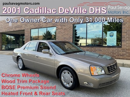 used 2001 cadillac deville dhs for sale at paul sevag motors inc vin 1g6ke57y71u292018 used 2001 cadillac deville dhs for sale