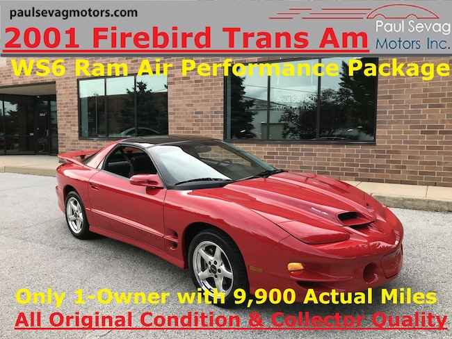2001 Pontiac Firebird Trans Am Ram Air Only 1-Owner and 9,983 Actual Miles Coupe