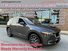 2017 Mazda CX-5 Grand Touring AWD LED Lights/Blind Spot & Lane Change Assist/Adaptive Cruise