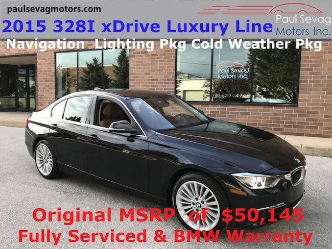 2015 BMW 328i xDrive Luxury Line Sedan Navigation/Lighting Pkg/MSRP $50,145 Sedan