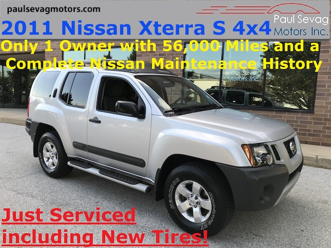 2011 Nissan Xterra S 4x4 Only 1-Owner with Full Maintenance History SUV