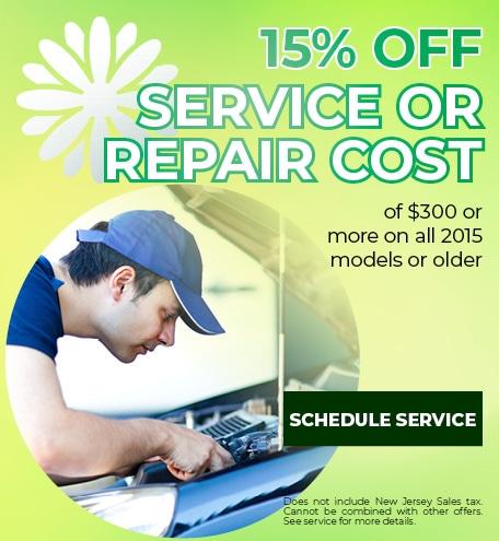 Service or Repair Cost