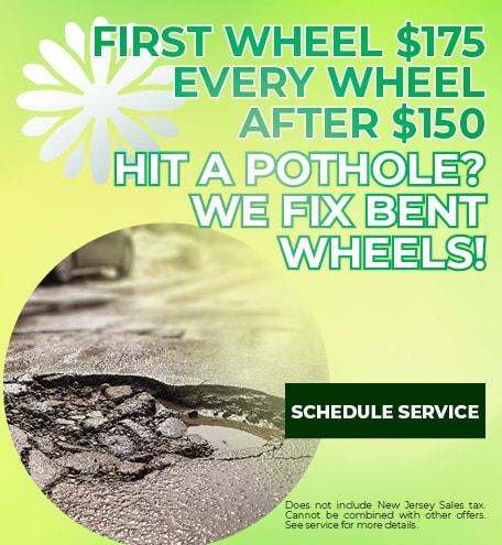 Hit a Pothole?