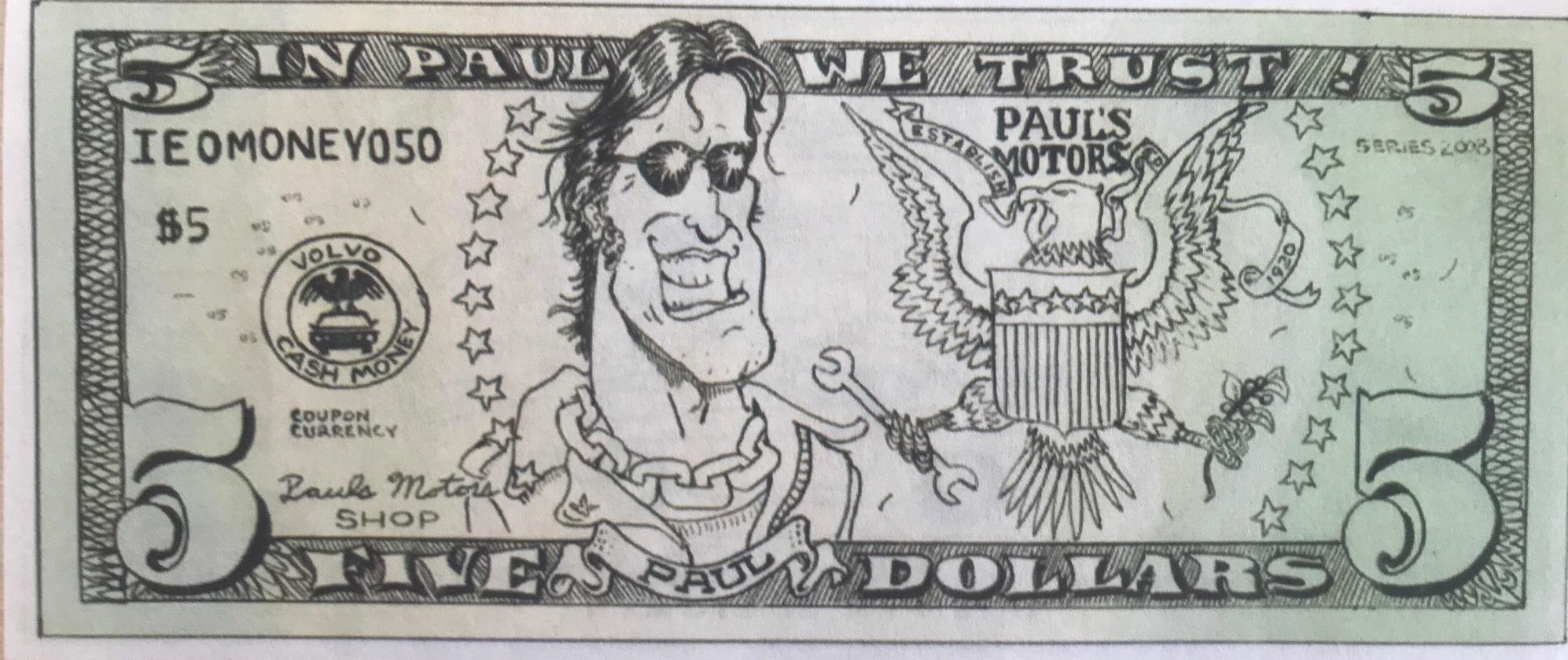$5.00 Paulsbuck