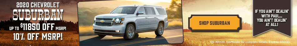 New 2020 Chevrolet Suburban | Discount