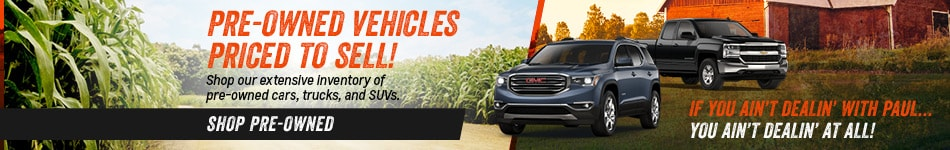 Pre-Owned Vehicles Priced to Sell!