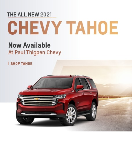 All New 2021 Chevy Tahoe
