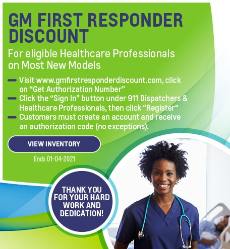 GM First Responders Discount