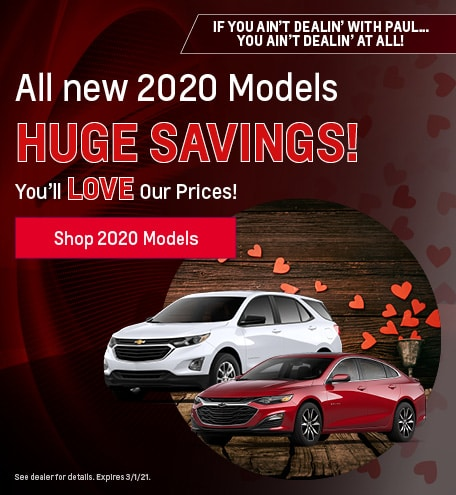 New 2020 Models | Priced to Sell!