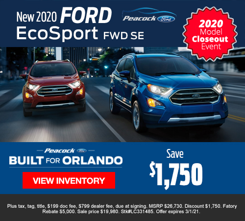 Ford Specials Maitland Fl Peacock Ford