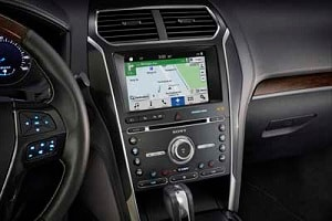 2018 Ford Explorer Interior Features