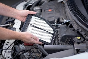 Air Filter Change in Columbia