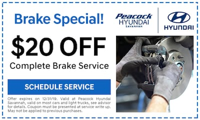 $20 off Complete Brake Service