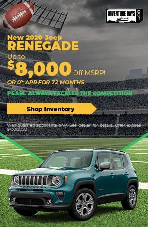 September New 2020 Jeep Renegade