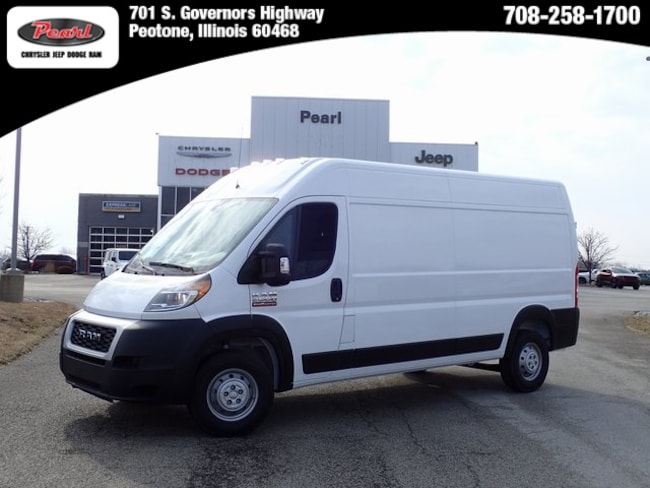 New 2019 Ram ProMaster 2500 CARGO VAN HIGH ROOF 159 WB Cargo Van in Peotone, IL