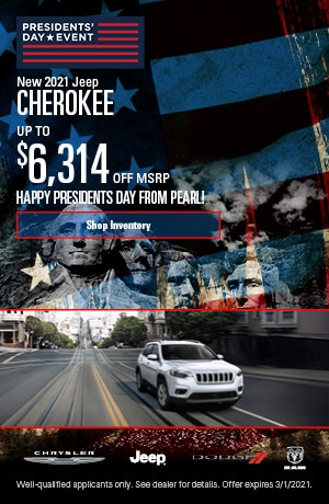 February New 2021 Jeep Cherokee Offer