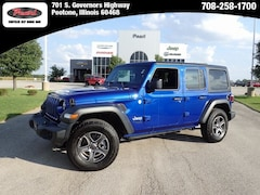 2018 Jeep Wrangler UNLIMITED SPORT S 4X4 Sport Utility for sale in Peotone, IL