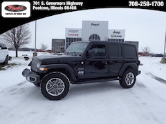 2018 Jeep Wrangler UNLIMITED SAHARA 4X4 Sport Utility for sale in Peotone, IL