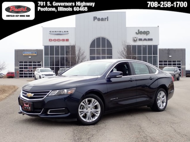 Used 2015 Chevrolet Impala LT Sedan in Peotone, IL