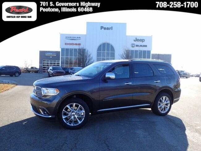 New 2019 Dodge Durango CITADEL AWD Sport Utility in Peotone, IL