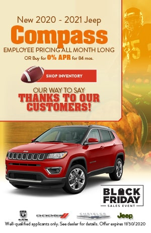 November New 2020 - 2021 Jeep Compass Offer