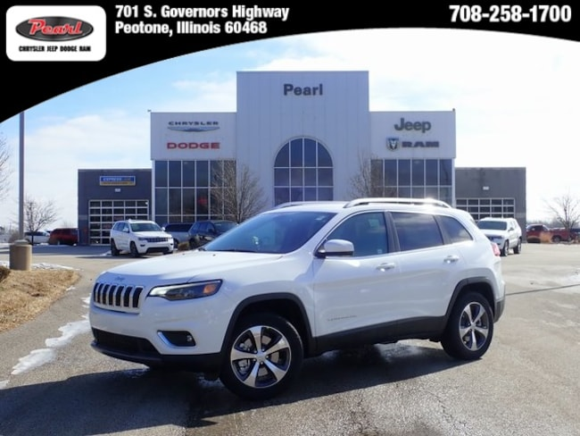 New 2019 Jeep Cherokee LIMITED 4X4 Sport Utility in Peotone, IL