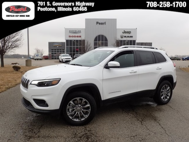 New 2019 Jeep Cherokee LATITUDE PLUS 4X4 Sport Utility in Peotone, IL