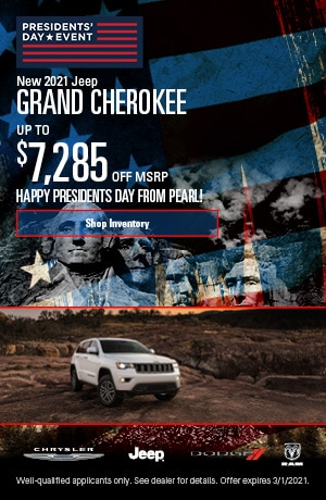 February New 2021 Jeep Grand Cherokee Offer